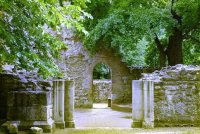 Margaret Island - Ruins of the Dominican Convent where St. Margaret lived in the 13th century