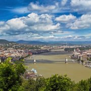 Budapest - View over the City and Danube